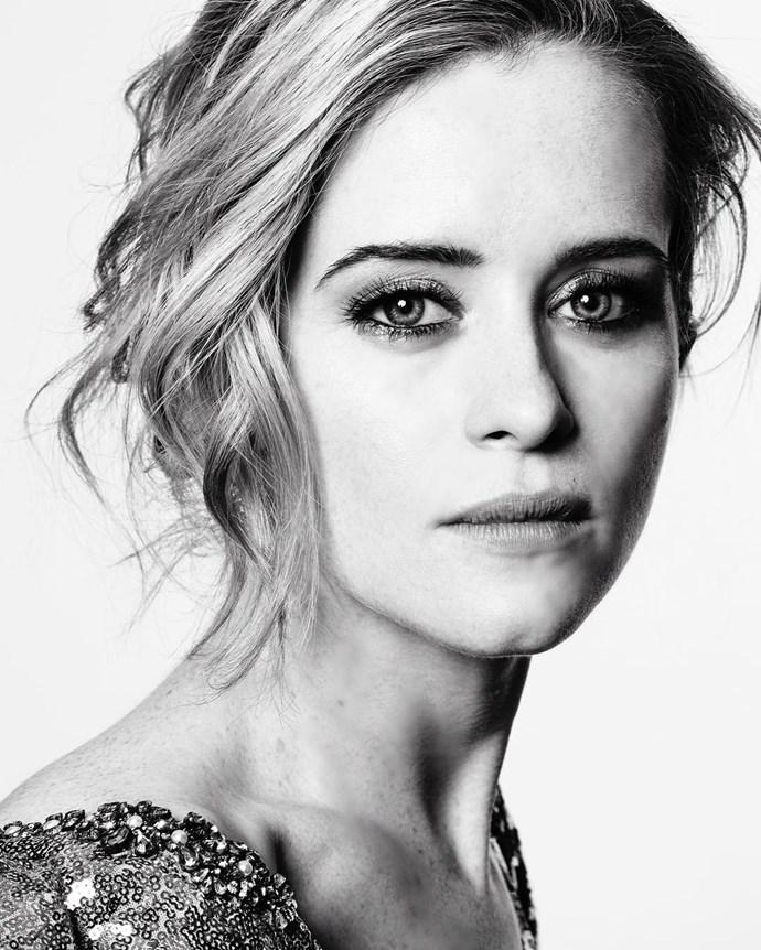 """Claire Foy from <em>The Crown</em>. <br><br> Image: <a href=""""https://www.instagram.com/p/BPCB6e4DrCJ/"""">@goldenglobes</a>"""