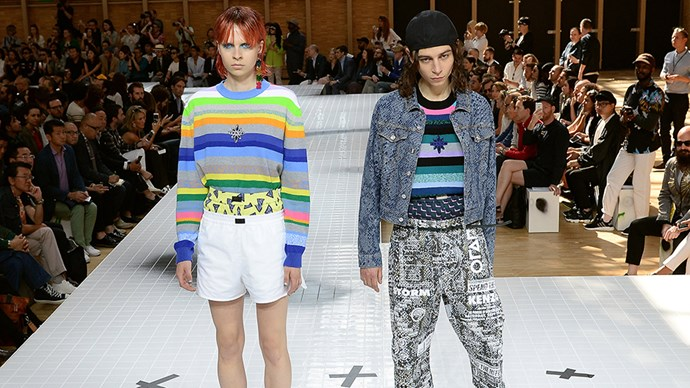 <strong>Unisex runways</strong> <p> Late last year, Kenzo became one of the many brands to abandon separate women and men's fashion shows. Joining the ranks of Burberry, Vetements and Calvin Klein, Kenzo began to show its men's and women's fashion within one show — with the occasional look doubling for both.