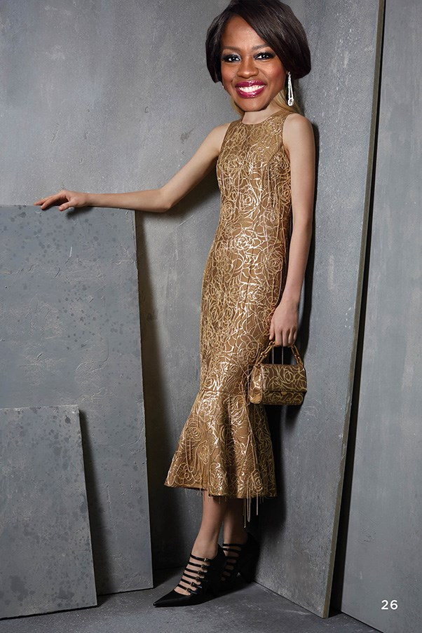 <strong>Viola Davis</strong><br><br> The Fences actor is an Oscar favourite so why not go dressed as one? Cue this dramatic Michael Kors Collection look.