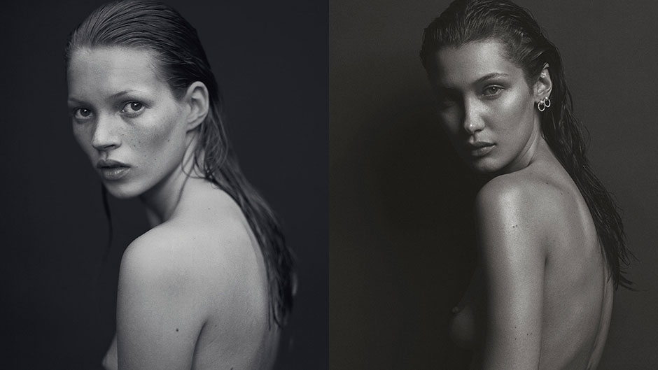 Bella Hadid Channels Kate Moss for V Magazine