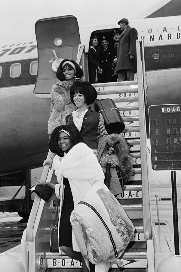 Diana Ross, Florence Ballard and Mary Wilson, 1965