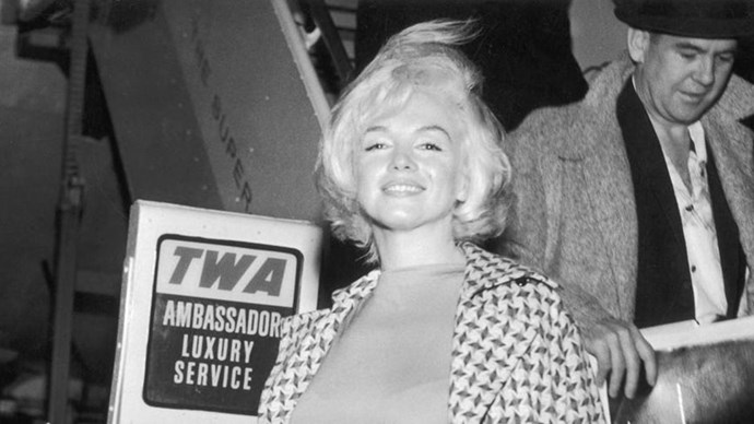Here are twenty-five vintage icons who knew how to travel in style.