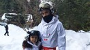 Victoria And Harper Beckham Hit The Slopes In Matching Ski Suits