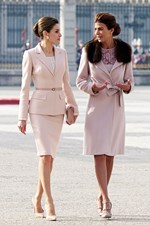 Queen Letizia of Spain Julia Awada Style
