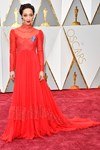 Oscars red carpet 2017 colour trends