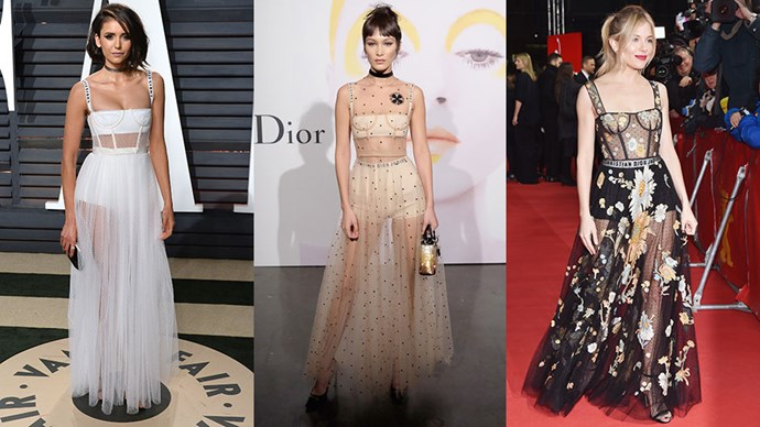 This Dior dress is proving to be a favourite among A-listers this awards season (and it's not difficult to see why). Here, our favourite times it hit the red carpets.