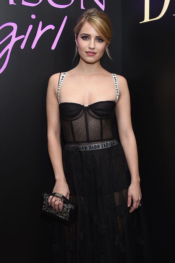Dianna Agron at a Dior beauty event in New York, January 2017.