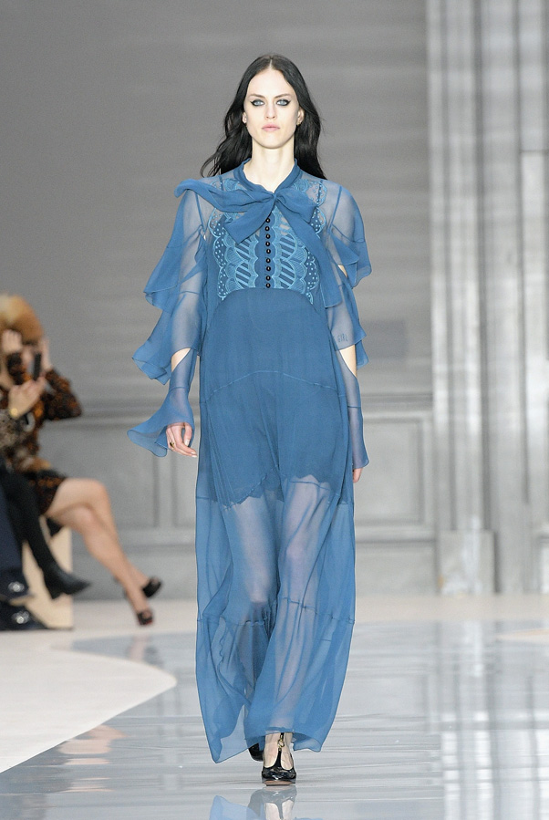 Clare Waight Keller Unveiled Her Final Chloe Collection at PFW Fall 2019