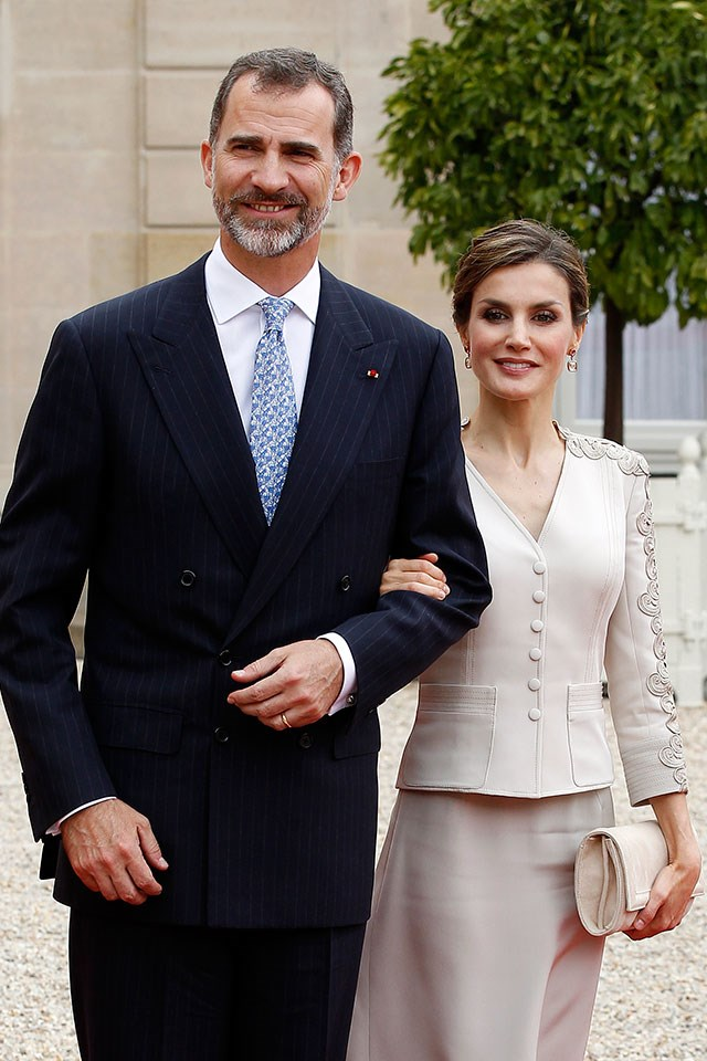 <strong>Queen Letizia of Spain</strong> <br><br> Before marrying King Felipe VI of Spain, Queen Letizia worked as a journalist and news anchor.