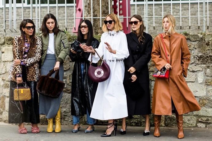Paris Fashion Week Street Style Autumn 2017