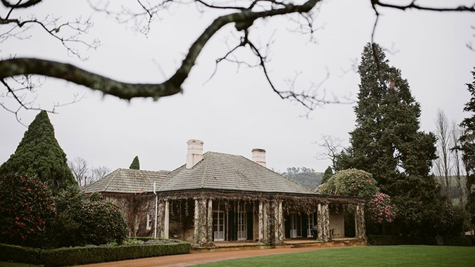 <strong>On the location: </strong> <br></br> Both the ceremony and reception took place on-site at Bendooley Estate in Berrima.