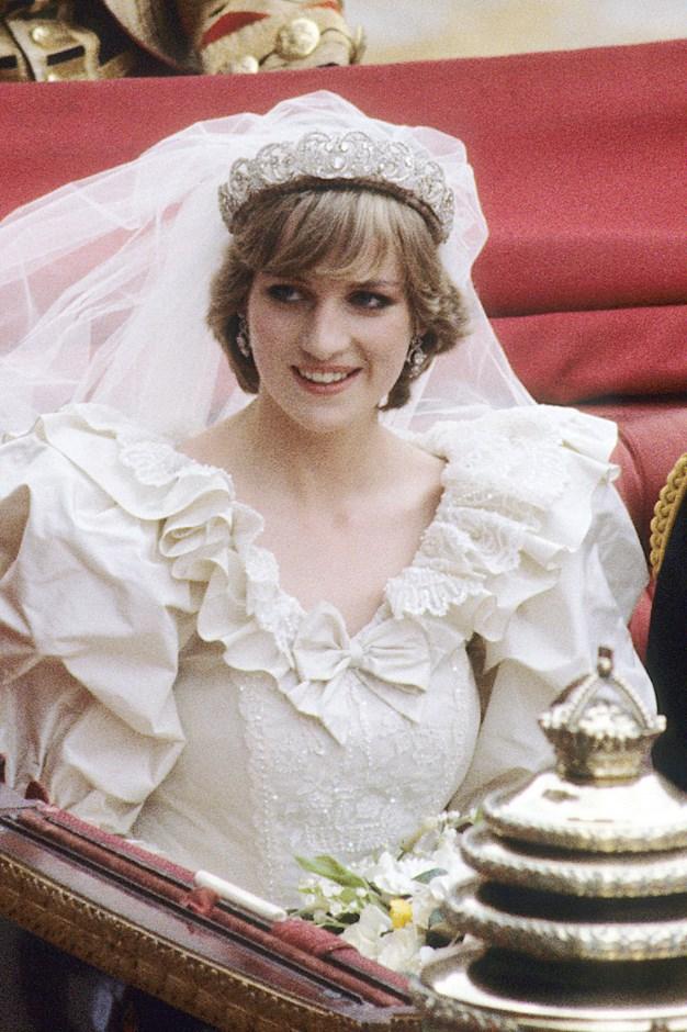 In the Spencer tiara in 1981.