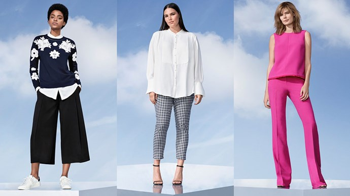 Your first look at Victoria Beckham's hotly anticipated high-street collaboration with Target. Spoiler: It's a goodie.