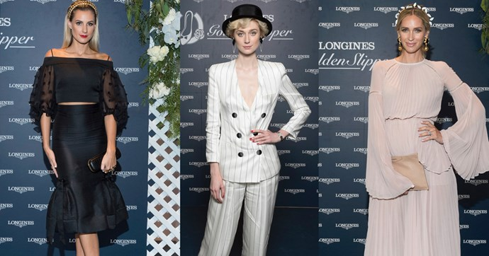 See all the glamour from Longines Golden Slipper Day.
