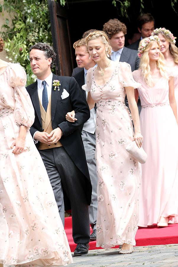 At the wedding of Prince Franz Albrecht, August 2016.