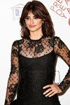 Penelope Cruz black dress