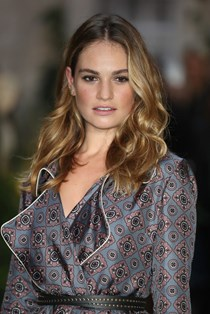 Lily James Downton Abbey cast reunion movie