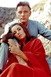 Elizabeth Taylor in the Arms of Burton