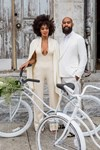 Solange Knowles jumpsuit wedding