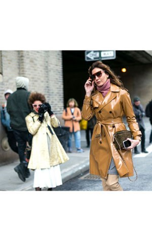 Neutral Shine Trend Coat