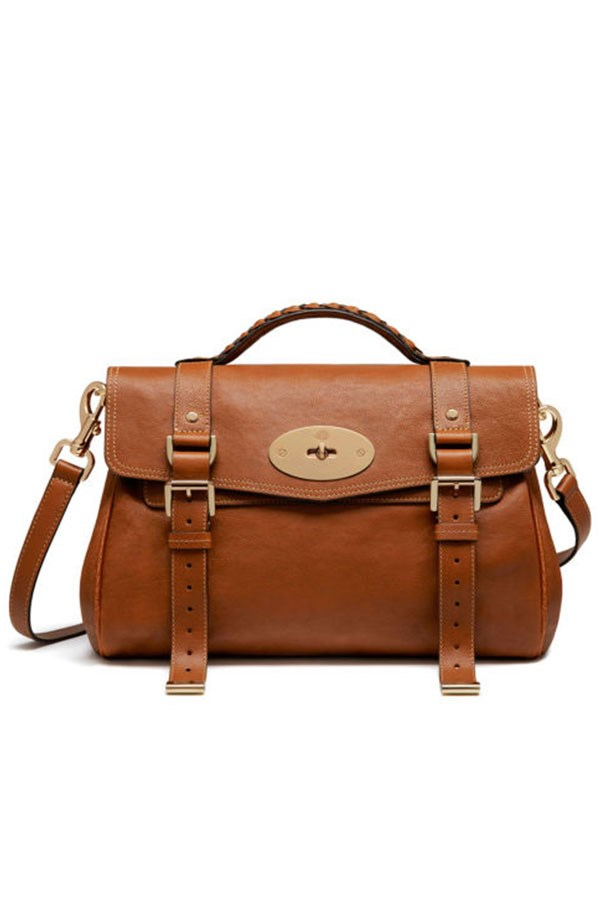 "<strong>The Alexa bag, Mulberry.</strong> <p><p> One of the most famous namesake bags in recent years is undoubtedly the Mulberry Alexa. Made as a tribute to Alexa Chung after she was spotted carrying the men's briefcase-style Mulberry Elkington, the then creative director Emma Hill wanted a bag that captured the model's low-key, tomboyish sense of style. It was an immediate success, helping Mulberry beat the recession; when the bag launched in 2010, it was reported that the label's sales rose by 79 per cent internationally. Though Mulberry no longer stocks the Alexa, it has remained one of the It bags of its time. <p> From $1950 AUD, <a href=""http://www.mulberry.com/au/women?gclid=CjwKEAjw2qzHBRChloWxgoXDpyASJAB01Io0ADg7KRSeMckTN2iB16x26_XbAKeKN2fP6X6-9ETXwhoCnCjw_wcB&gclsrc=aw.ds"">Mulberry</a>"