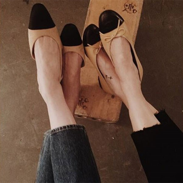 "<strong>Vanessa Traina in Chanel</strong><br><br> Instagram: <a href=""https://www.instagram.com/p/BNkrHf6gNf7/"">@vtraina</a>"