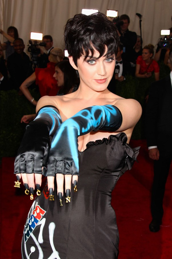 <strong>2015</strong> <br><br> Katy Perry's charmed manicure.