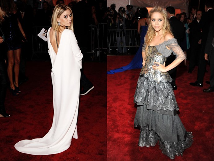 <strong>2009</strong> <br><br> When Ashley was white hot, and Mary-Kate was sterling perfection in Christian Lacroix.