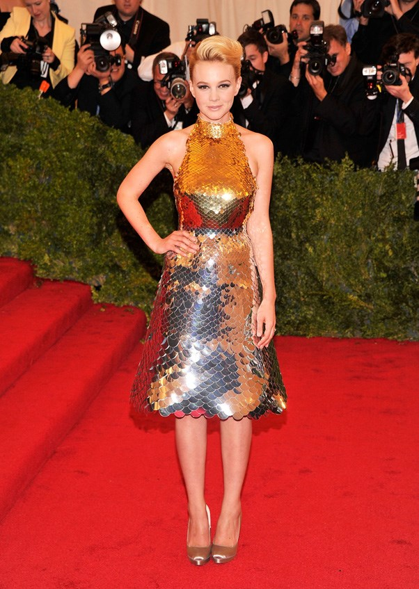 <strong>2012</strong> <br><br> When Carey Mulligan stole the spotlight in a metallic Prada dress, which she later sold on eBay.