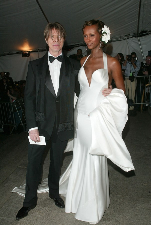 <strong>2003</strong> <br><br> When David Bowie and Iman looked like the rock star-supermodel royalty they are.