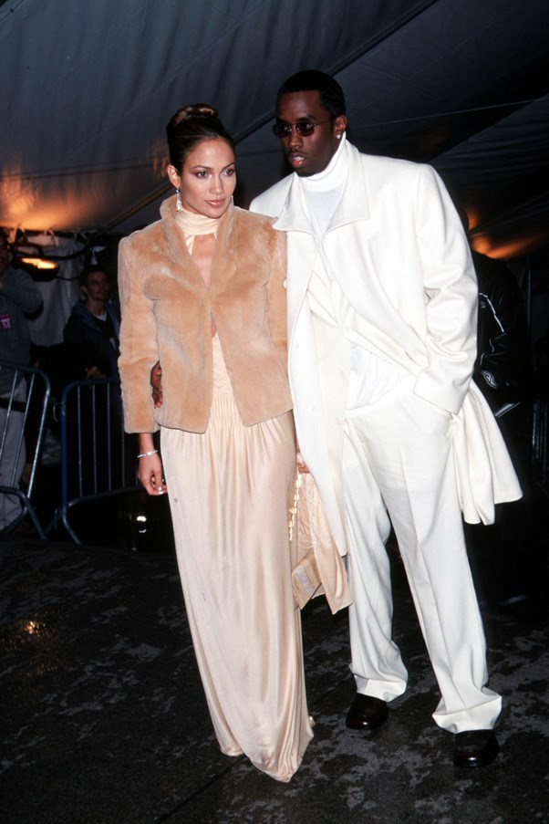 <strong>1999</strong> <br><br> When J.Lo made her first Met Gala appearance with Puff Daddy on her arm.