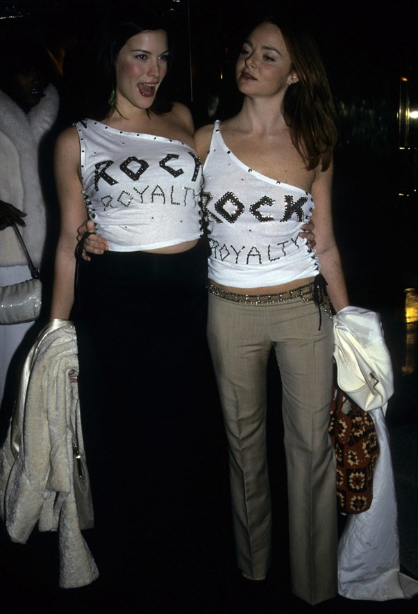 <strong>1999</strong> <br><br> When Liv Tyler and Stella McCartney wore the one-shouldered tees of your '90s dreams.