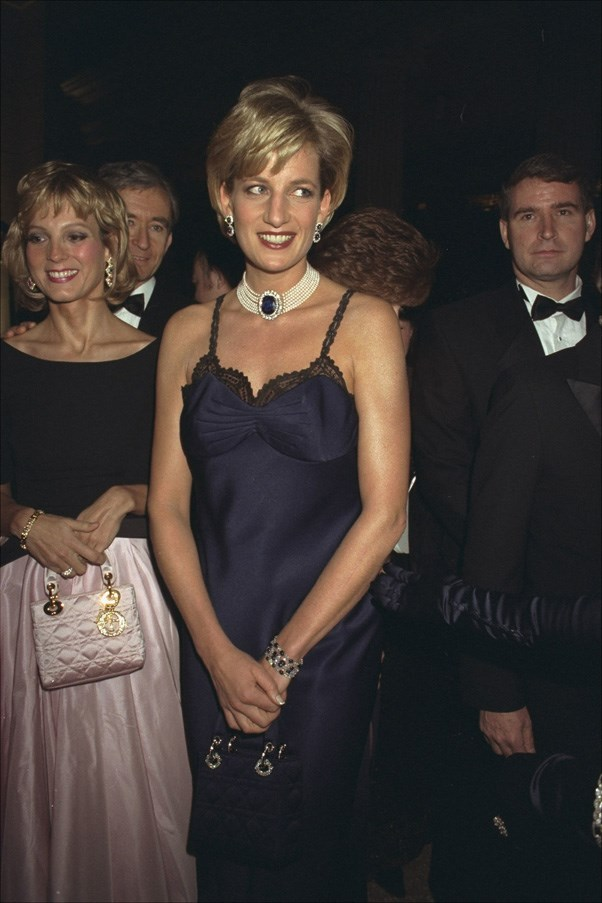<strong>1996</strong> <br><br> When Princess Diana got sultry in a slipdress.