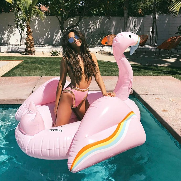 """<strong>Shay Mitchell</strong> <br><br> Image: <a href=""""https://www.instagram.com/p/BS4Oax3hyas/"""">@shaym</a>"""