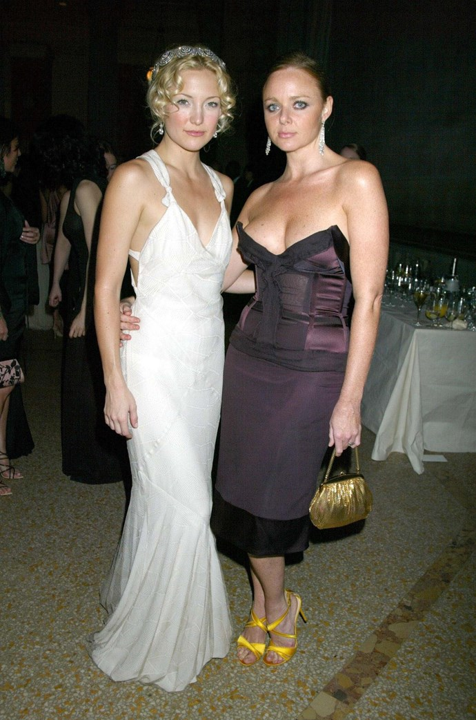 <p><strong>KATE HUDSON</strong> <p>in Stella McCartney, 2003