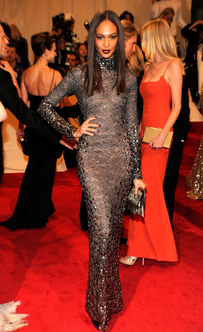<p><strong>JOAN SMALLS</strong> <p>in Tom Ford