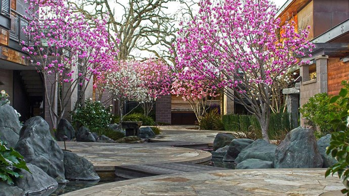 "<strong>Bardessono Hotel and Spa, Yountville, USA</strong> <br><br> Where: Napa Valley, California <br><br> About: In one of the most beautiful and acclaimed wine countries in the world, Bardessono Resort combines rustic, luxe wine country style with environmental consideration around every corner. <br><br> Eco points: All ingredients on the hotel's menus are organic and locally grown, and an eco-friendly floor heating system, as well as a domestic hot water supply, makes sure as minimal power is used as possible. <br><br> Website: <a href=""http://bardessono.com/""></a> <br><br> Images: Bardessono Hotel & Spa"