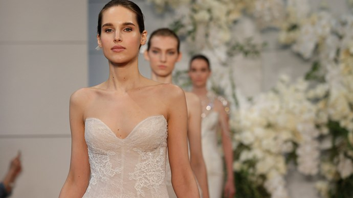 new york bridal fashion week 2017