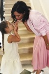 Victoria Beckham and Harper Beckham Birthday Wishes David Beckham