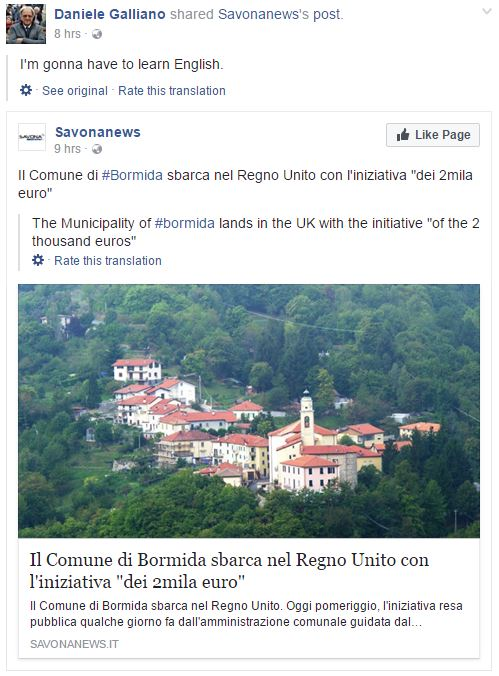 Italian Town Bormida Wants To Pay People To Move There