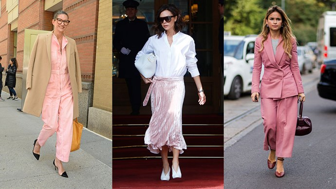 PSA: Millennial pink isn't just for millennials. Here's the grown-ups guide to wearing it.