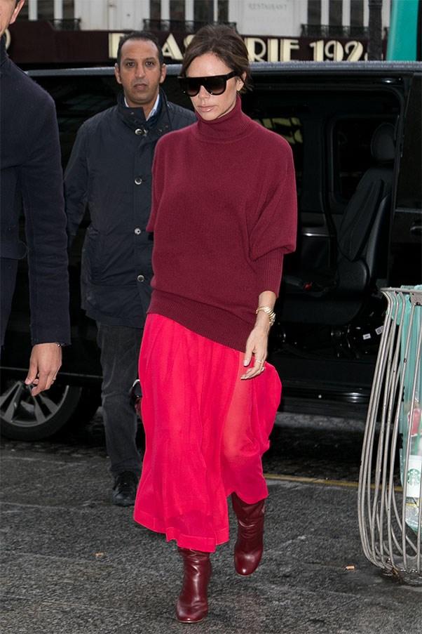 Victoria Beckham in her autumn winter '17 collection