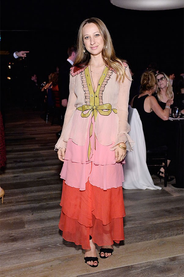 Jennifer Meyer in Gucci