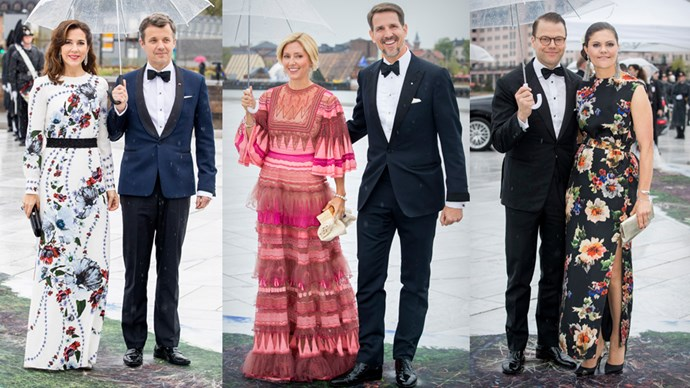 Kings, queens, princesses and princes were all on parade at King Harald of Norway's 80th birthday gala. Here, our favourite royal looks.
