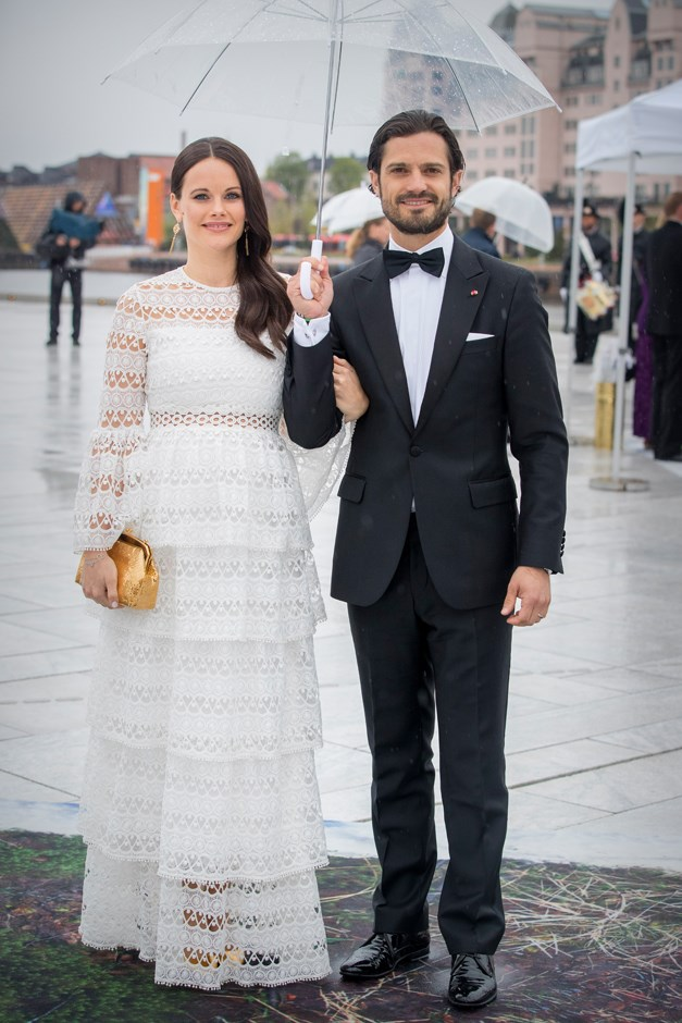 Princess Sofia of Sweden, in Alexis, and Prince Carl Philip.