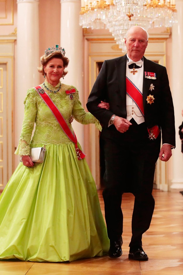 Queen Sonja and King Harald of Norway.