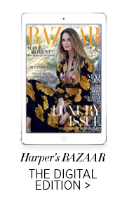 Harper's Bazaar on iPad