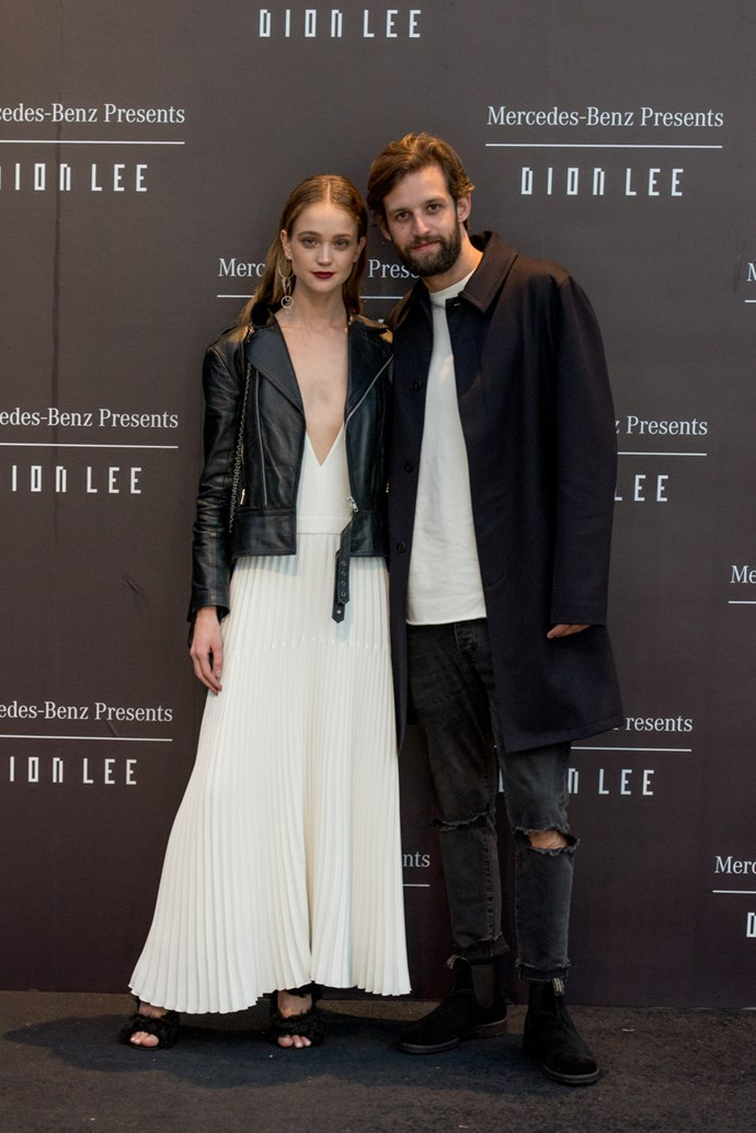 Rosie Tupper at the opening night dinner in honour of Dion Lee.
