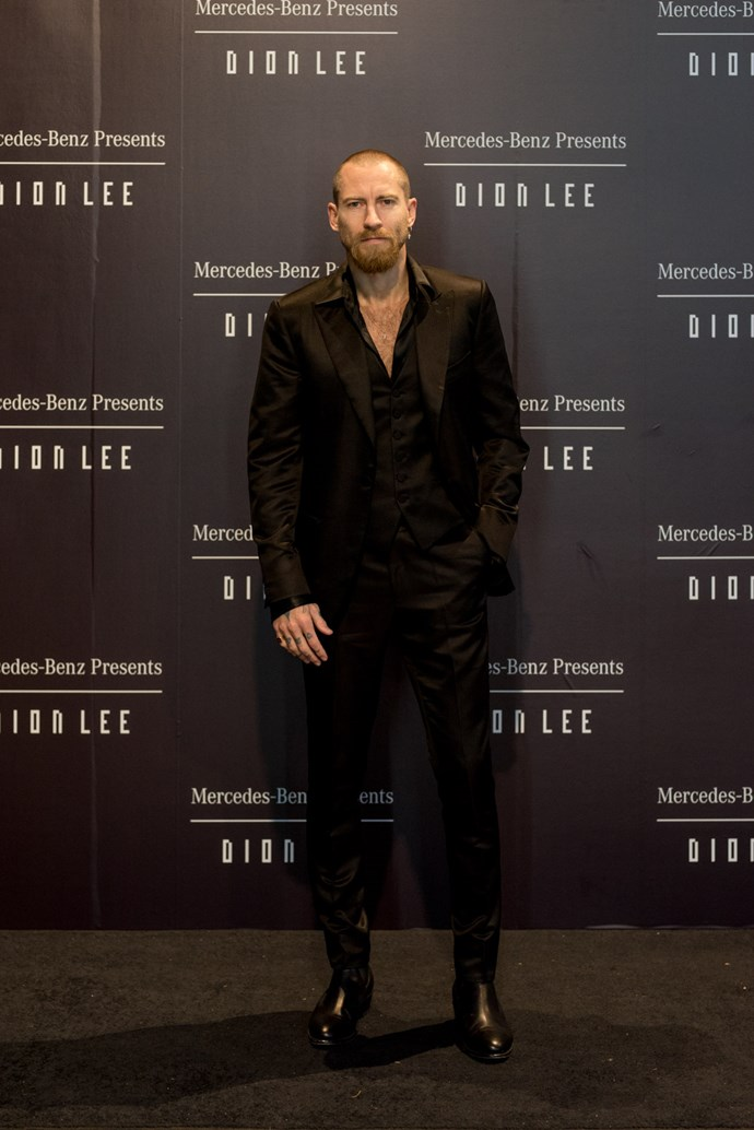 Justin O'Shea at the opening night dinner in honour of Dion Lee.