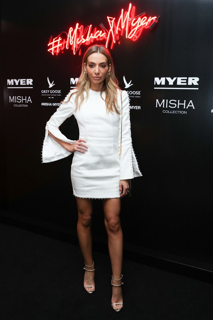 Nadia Bartel at the Misha Collection and Myer party at Bondi Icebergs.